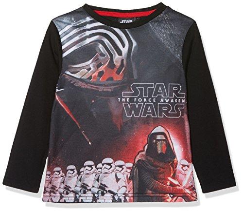 Star Wars Kylo Ren, Camiseta para niños, negro, 9-10 Años (Talla del fabricante: 10 Años)