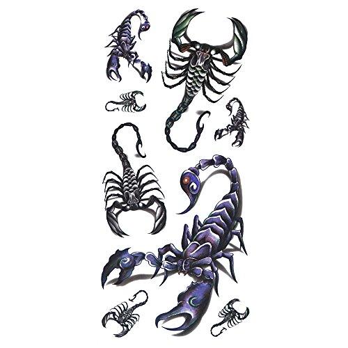 Tattoo 3D Skorpion (Walmart Halloween-make-up)