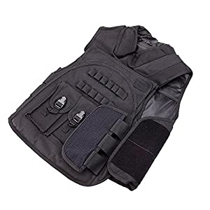 Lixada SWAT Airsoft CS Paintball Tactical Hunting Combat Assault Vest Outdoor Training Waistcoat by Lixada