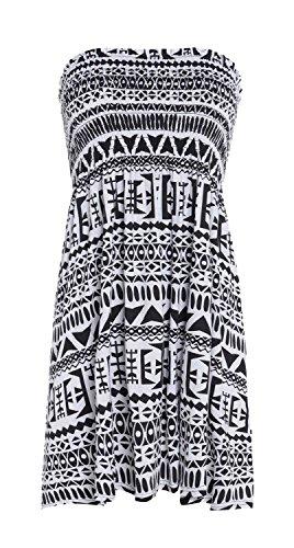 FK Styles -  Maglia a manica lunga  - Donna Tribal Print