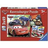 Ravensburger 09281 - Puzzle Enfant Classique - Cars 2 - 3 x 49 Pièces