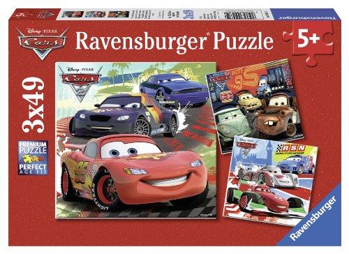 Ravensburger - 09281 - Puzzle Enfant Classique - Cars 2 - 3...