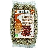 MARKAL Graines de tournesol décortiquées 500G Bio -
