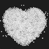 LYTIVAGEN 3000 Pezzi Cristalli Acrilici Diamanti Trasparenti Dispersione Decorazione per Matrimonio, Feste, Compleanno o Tavolo Coriandoli (6mm)