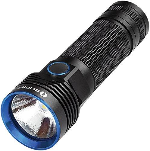 Olight R50 Pro Seeker Linterna, Negro, 3200 lumens