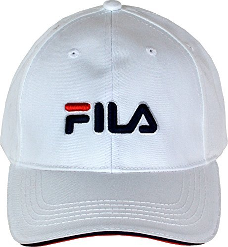 mens-fila-baseball-cap-with-velcro-fastening-on-back-one-size-white