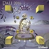 Salvador Dali 2016 Grid Calendar Art Calendar - 30 x 30 cm