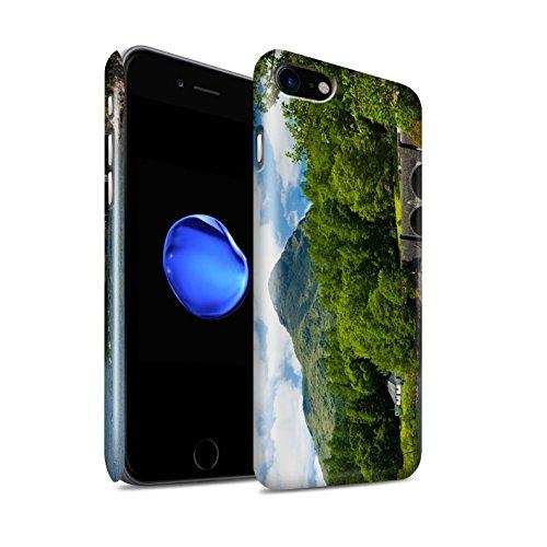STUFF4 Glanz Snap-On Hülle / Case für Apple iPhone 8 / Pack 14pcs / Schottisch Landschaft Kollektion Brücke/Berg