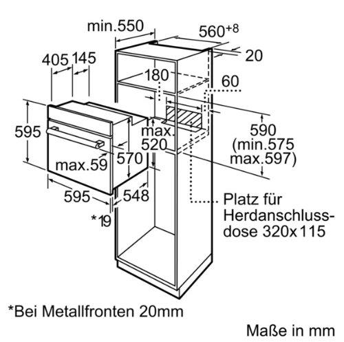 Bosch Hba33b150 Serie 6 Einbaubackofen