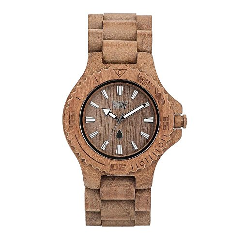 WEWOOD Damen Analog Quarz Smart Watch Armbanduhr mit Holz Armband WW01009