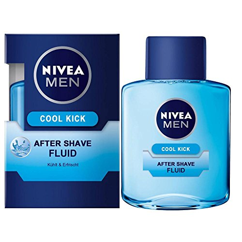 Nivea Men Cool Kick After Shave Fluid, 2er pack (2 x 100 ml)