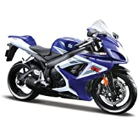 Maisto 31153  Suzuki GSX-R 750 06 01:12 - Moto de juguete (varios colores)