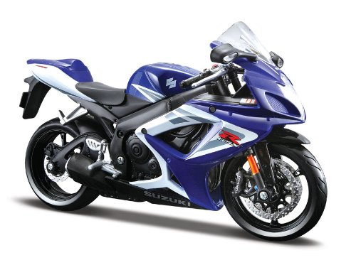 Maisto 31153 Suzuki GSX-R 750 06 01:12 - Moto de Juguete