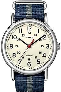 Timex Herren-Armbanduhr Special Weekender Slip Through Analog Quarz T2N654PF