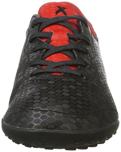 adidas X Tango 16.3 Tf J, Scarpe da Calcio Unisex – Bambini Nero (Core Black/core Black/red)