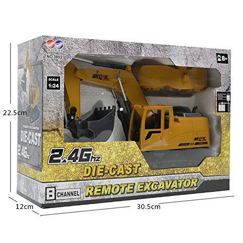 RC Auto kaufen Kettenfahrzeug Bild 6: Hunpta@ Fernbedienung Auto 1:14 rc LKW 15 Kanal voll funktionale Fernbedienung Bagger Bau Traktor Spielzeug Geschenk (A)*