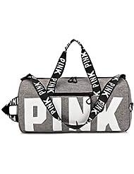 Ativafit Sport Bag Printing Portable High Capacity Sports Travel Barrel Shoulder Bag Duffels