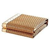 RKY Materasso Estivo Materassino Bamboo Cool - Tappetino in Feltro Pieghevole in Rattan Mat - Disponibile in Sei Dimensioni / - / (Dimensioni : 90X200)