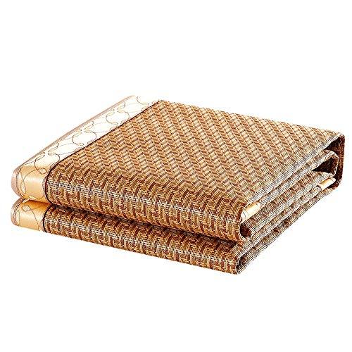YONG FEI Bambus Cool Matratze - Faltbare Rattan-Matte Ice Silk Mat - In sechs Größen erhältlich Sommer-Schlafmatte (größe : 90X200) - Ultimativen Komfort Matratze