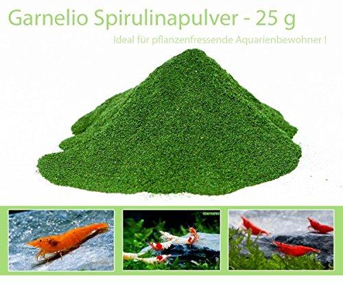 Garnelio - Spirulina Pulver - 25 g - Garnelen Futter