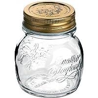 Confezione da 12pz Contenitori vasi con tappo ermetico 4 stagioni della Bormioli da 250ml per conserve confetture
