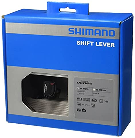 Shimano Deore SL-M610 Rapid Fire - Black, 10