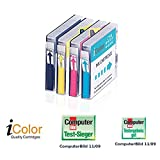 iColor Multipacks kompatible Druckerpatronen für Brother Tintenstrahldrucker: Color-Pack für Brother LC970+LC1000 BK/C