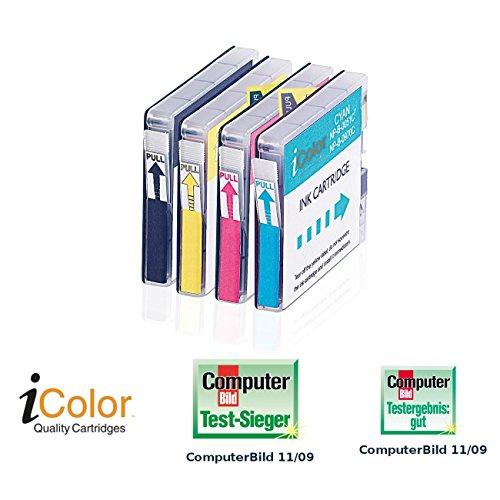 Preisvergleich Produktbild iColor Color-Pack für Brother LC970+LC1000 BK/C/M/Y