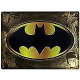 DC Comics - Batman - 3D Blechschild - Logo - 38 x 28 cm