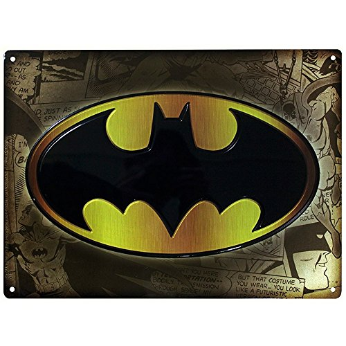 DC Comics - Batman - 3D Blechschild - -