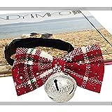 Haustier-Weihnachtsfliege Krawatten mit verstellbarem Halskragen für Hunde Ferienzeit Party Hundehalsbänder