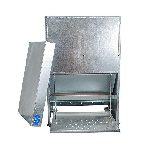 Futterautomat mit Trittklappe 15 kg - 2