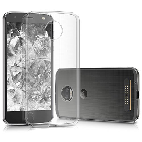 kwmobile Motorola Moto Z2 Force Hülle - Handyhülle für Motorola Moto Z2 Force - Handy Case in Transparent