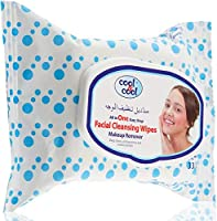 Cool & Cool Cls & Make Up Remover Wipes 33's