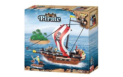 Grandi giochi blokki galeone dei pirati 226 pezzi,, gg-81167
