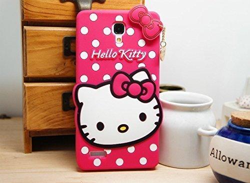 4 SEASON 3D Designer Hello Kitty Back Cover For XIAOMI REDMI NOTE - Pink
