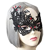 Bigood Mascarade Masque Halloween Honneur Femme Déguisement Zombi Mask Party Gothique