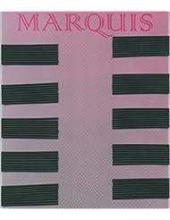 Efalock Marquis 4cm Noir 100Stk cheveux pince Marquis 4cm Noir 100Stk Thermatt Extensions de cheveux