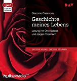 Geschichte meines Lebens: Lesung mit Otto Sander und Jürgen Thormann (2 mp3-CDs)