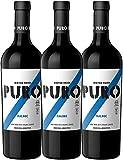3er Paket - Puro Malbec 2017 - Dieter Meier | trockener Rotwein | argentinischer Biowein aus Mendoza | 3 x 0,75 Liter