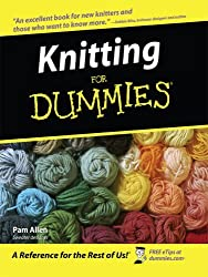 Knitting for Dummies (Thorndike Health, Home & Learning) by Pam Allen (2008-04-01)
