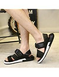 GuiXinWeiHeng xiuhuaxie (new)-Pfingstrose bestickte Schuhe, Sehnensohle, ethnischer Stil, weiblicher Flip Flop, Mode, bequem, Sandalen, black, 41