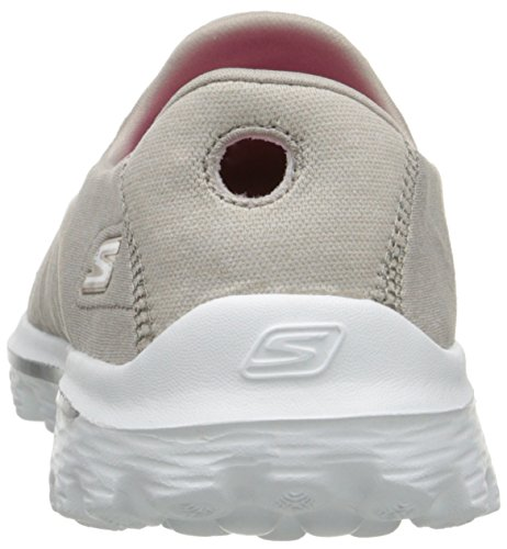 Skechers Gowalk 2 Supersock, Baskets mode femme Taupe 2