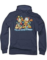 Garfield - - Vacances vives pour hommes Hoodie