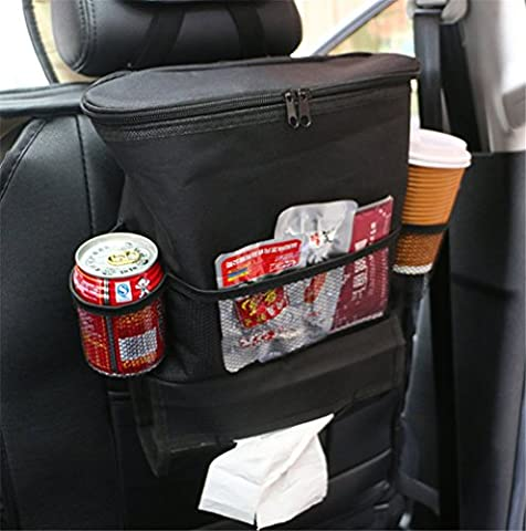 Auto Car Seat Organizer Holder, Silence Shopping Auto Seat Back Organisers Bottle Drinks Holder Multi-Pockets Travel Storage