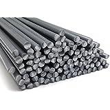 Kunststoffschweißdraht PVC-U Hart 4mm Rund Grau 25 Stäbe