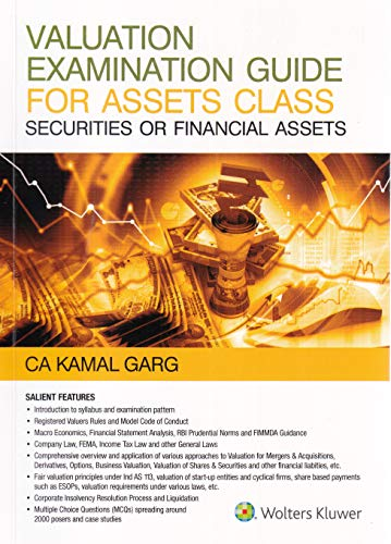 Valuation Examination Guide: For Assets Class Securities or Financial Assets
