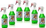 Tuga Alu-Teufel Spezial Felgenreiniger Set - 6 x 1 Liter Sprühflasche