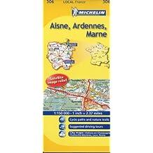 Michelin Local Aisne, Ardennes, Marne, France