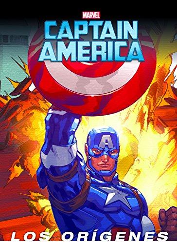 51Bj9P7vLaL - Capitán América. Los orígenes: Cuento (Marvel. Los Vengadores)